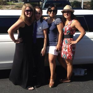 bachelorette parties, weddng events, family fun and just girls out tours of the paso robles wine countryr is Cal Limo's specialty